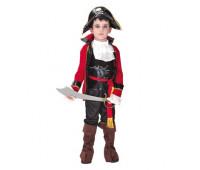 Костюм благородного Пирата (красная кофта)
