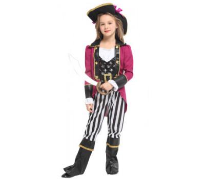 Костюм озорной Пиратки (со штанинками)