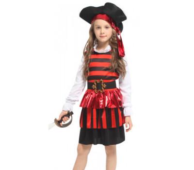 Костюм озорной Пиратки (с юбочкой)